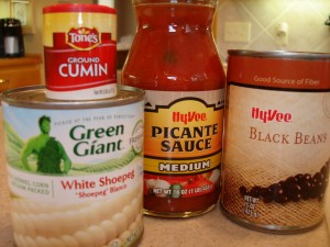 Canned ingredients